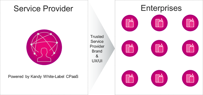 service provider enterprises diagram