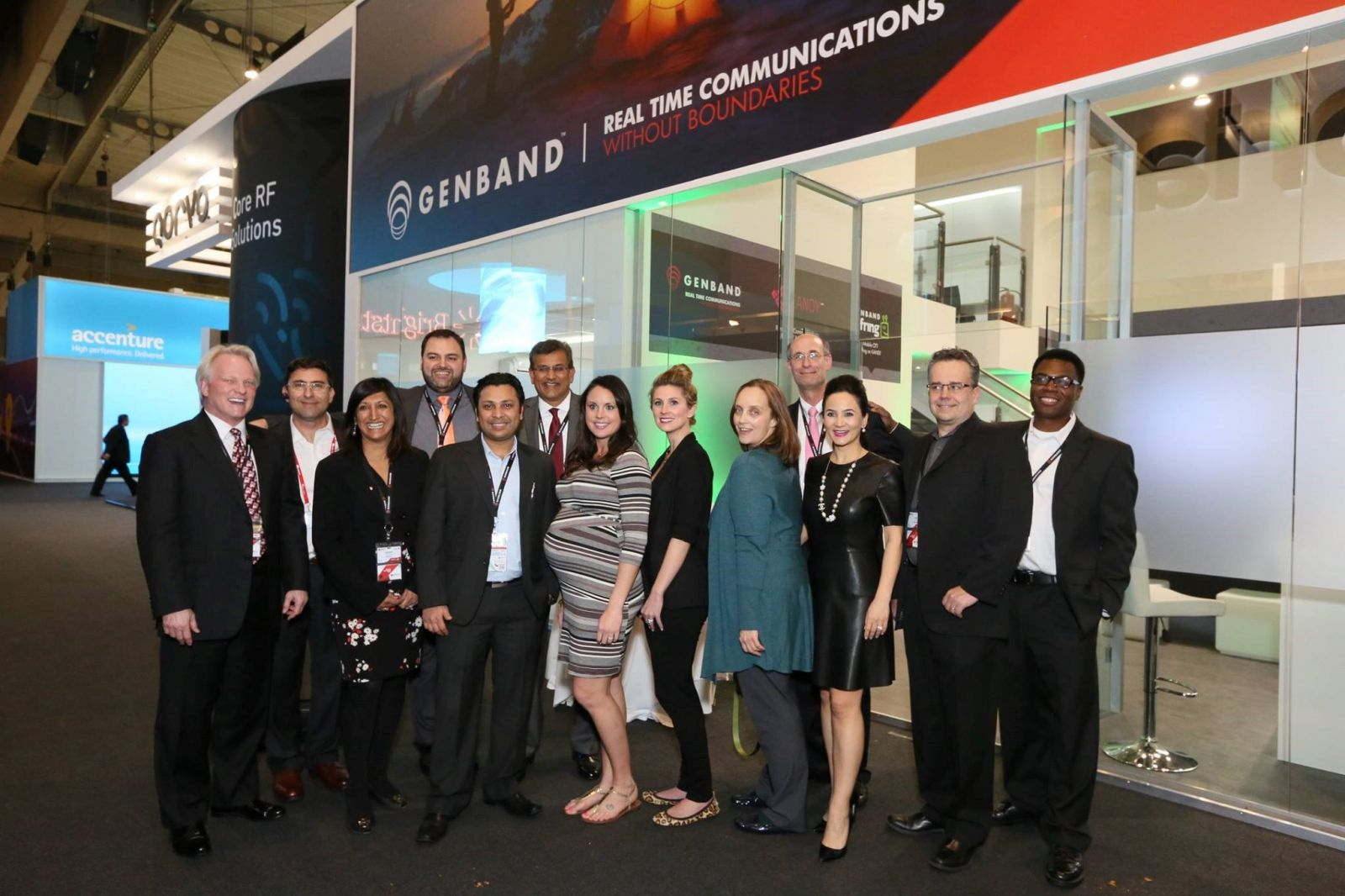 Genband at Mobile World Congress